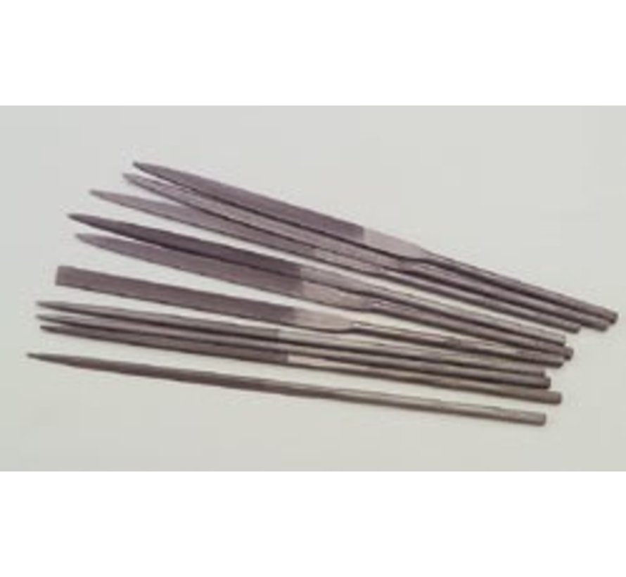 10701 Needle File Set 10pc