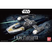 BANDAI MODEL KITS Y-Wing Starfighter Star Wars 1:72