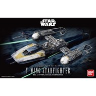 BANDAI MODEL KITS Y-Wing Starfighter Star Wars 1:72
