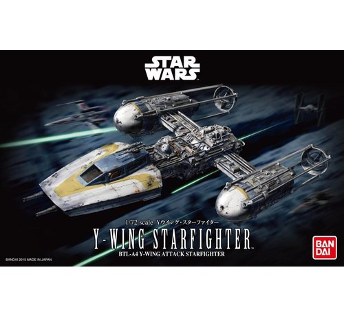 BANDAI MODEL KITS 196694 Y-Wing Starfighter  Bandai Star Wars 1/72 Plastic Model