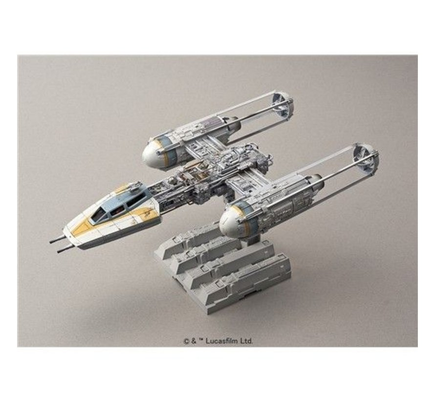 196694 Y-Wing Starfighter  Bandai Star Wars 1/72 Plastic Model