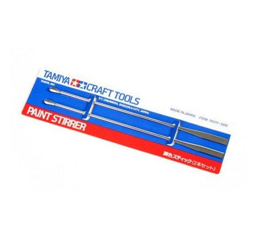 TAM - Tamiya 865- 74017 Paint Stirrer  2pk
