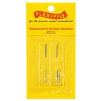 CUH - Flex-I-File FLE6115  Scriber Needle Replacements: 3ea Coarse, Fine