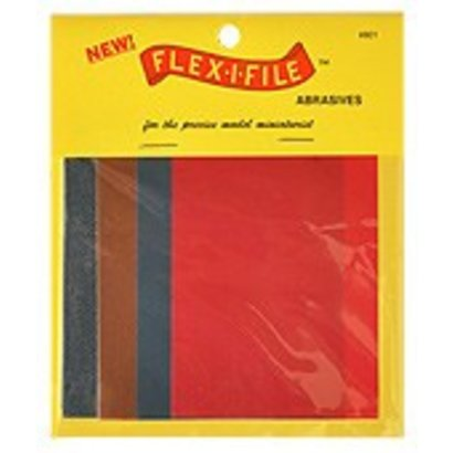 CUH - Flex-I-File FLE0801  FLEX-I-FILE ABRASIVE SHEET *