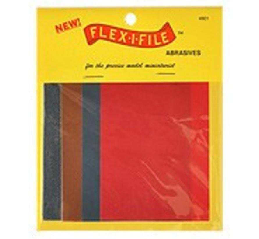 FLE0801  FLEX-I-FILE ABRASIVE SHEET *