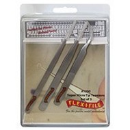 CUH - Flex-I-File Stainless Steel Tweezer Set