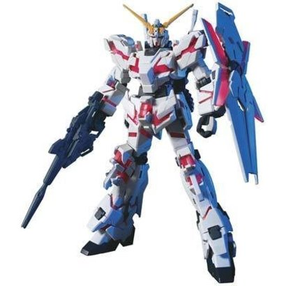 BANDAI MODEL KITS 161011 1/144 #100 RX-0 Unicorn Gundam Destroy Mode