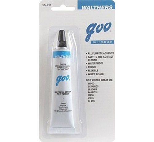 Walthers Goo (HOB) 904- GOO (R) -- 1oz 29.lmL Tube The All Purpose Adhesive --