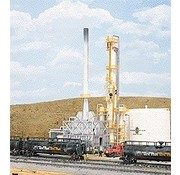 "Walthers Cornerstone (WALC) 933- North Island Refinery -- Kit - 8-1/16 x 5""  20.5 x 12.7cm"