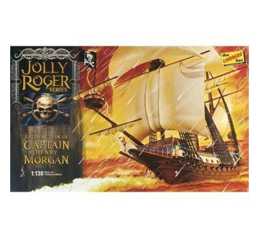 HL219/12 1/130 Jolly Roger Series Capt. Morgan