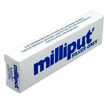 MILLIPUT (MIL) 96332 MILLIPUT Epoxy Putty 4 OZ REGULAR SILVER GRAY