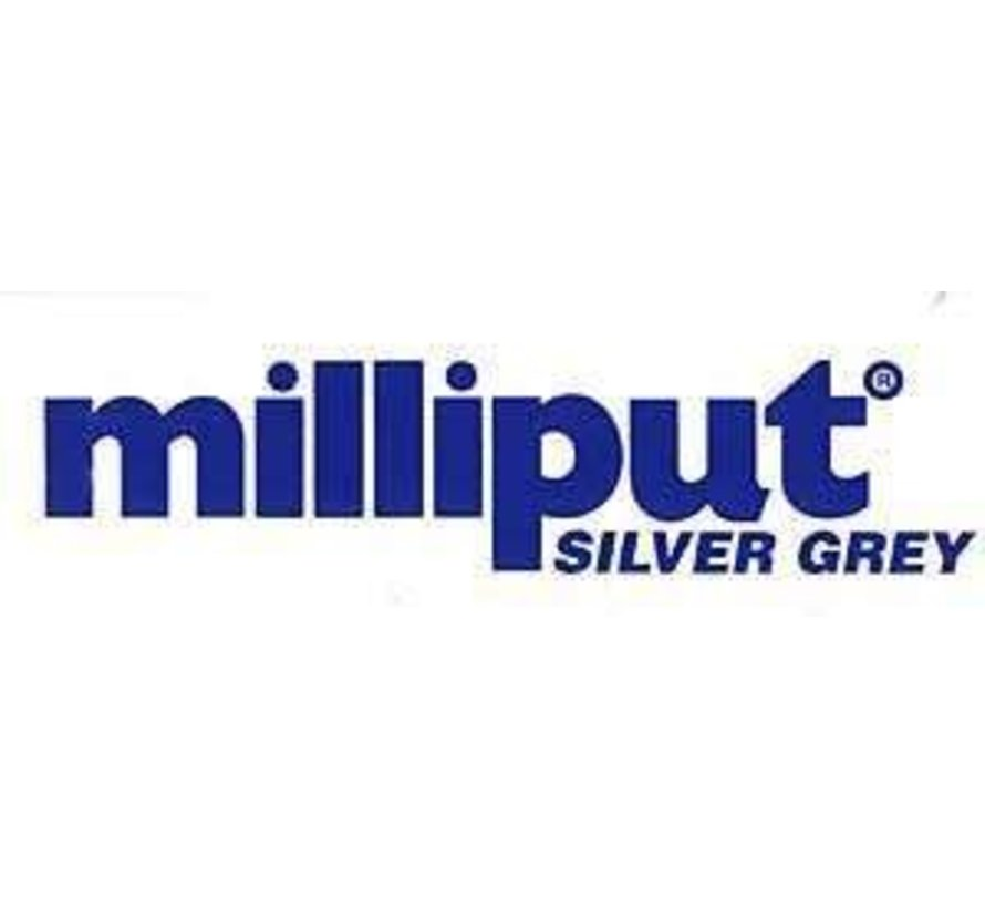 96332 MILLIPUT Epoxy Putty 4 OZ REGULAR SILVER GRAY
