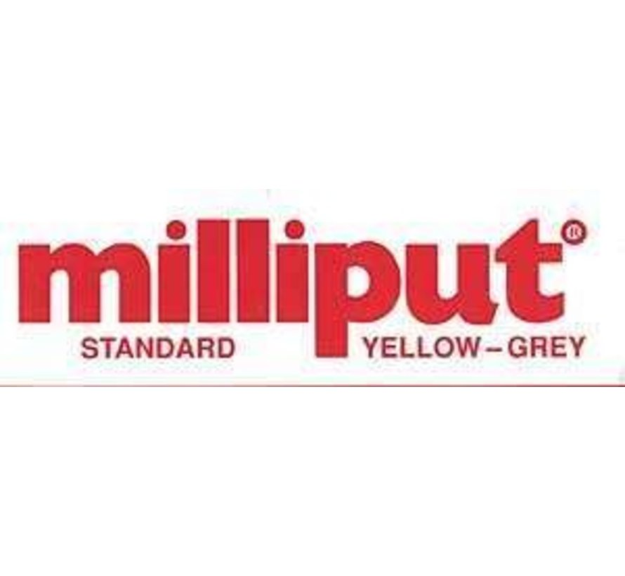 96331 MILLIPUT Epoxy Putty 4 oz. YELLOW