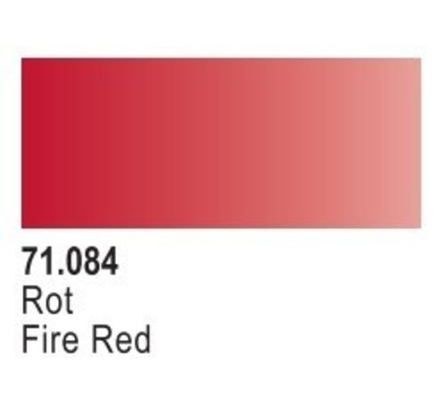 VLJ-VALLEJO ACRYLIC PAINTS 71084 - FIRE RED                    17ML