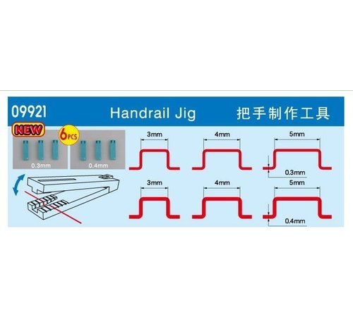 TSM - Trumpeter Models Handrail Jig