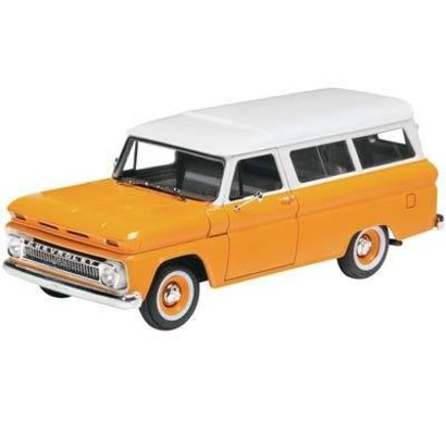 RMX- Revell 854409 1/25  1966 Chevy Suburban Plastic Model Kit