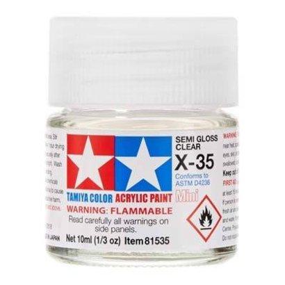 TAM - Tamiya 865- 81535 Acrylic Mini X35 Clear   10ml