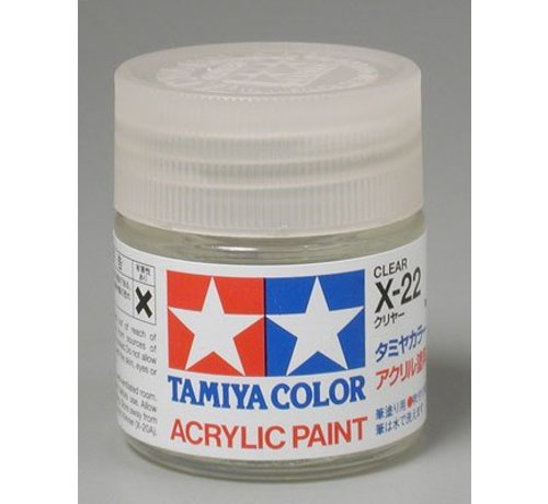 TAM - Tamiya 865- 81022 Acrylic X22 Gloss Clear