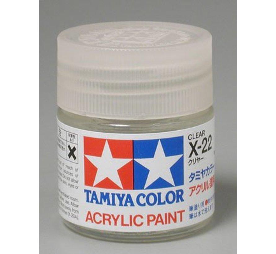 81022 Acrylic X22 Gloss Clear