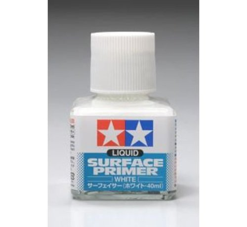 TAM - Tamiya 865- 87096 White Liquid Surface Primer 40ml