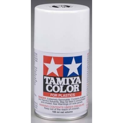 TAM - Tamiya 865- 85026 Spray Lacquer TS26 White 3 oz