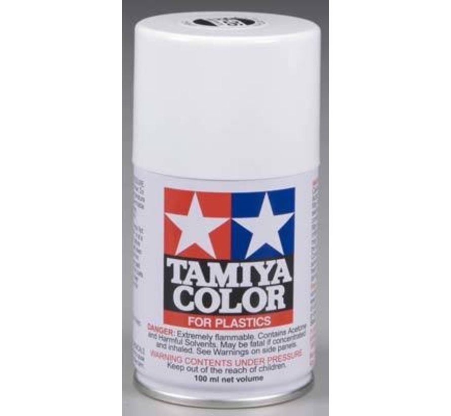 85026 Spray Lacquer TS26 White 3 oz