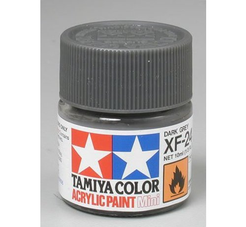 TAM - Tamiya 865- 81724 Acrylic Mini XF24 Dark Gray 1/3 oz