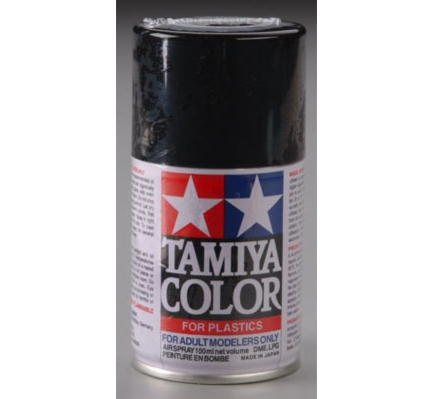 85006 Spray Lacquer TS-6 Matt Black