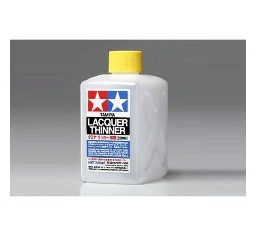 Tamiya (TAM) 865- 87077 Lacquer Paint Thinner 250ml *