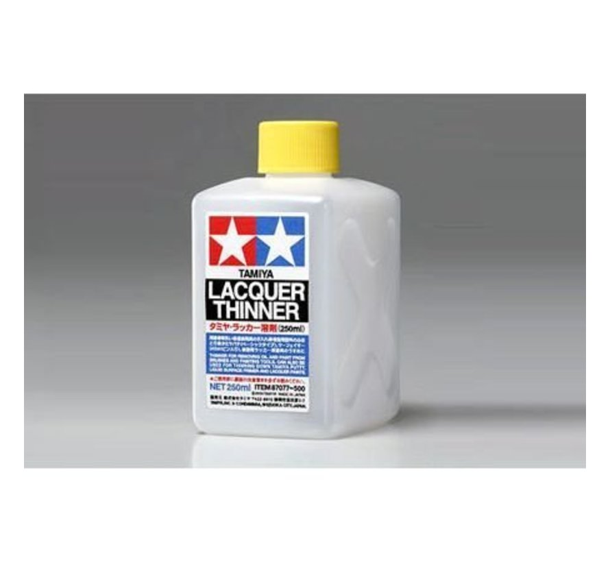87077 Lacquer Paint Thinner 250ml *