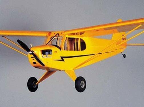 HRR - HERR Model Airplanes HERR PIPER J-3 CUB 1/2A R/C