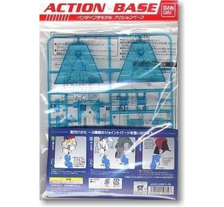 5057601 1:144 Action Base 2 Clear Blue