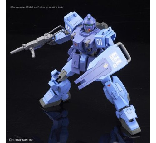 "BANDAI MODEL KITS 216740 #207 RX-79BD-1 Blue Destiny Unit1 ""Exam"" ""MS Gundam: Blue Destiny"", Bandai HGUC 1/144"