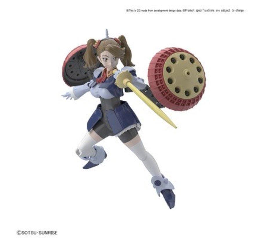 "(D) 219548 Hyper Gyanko ""Build Fighters"", Bandai HGBF 1/144"