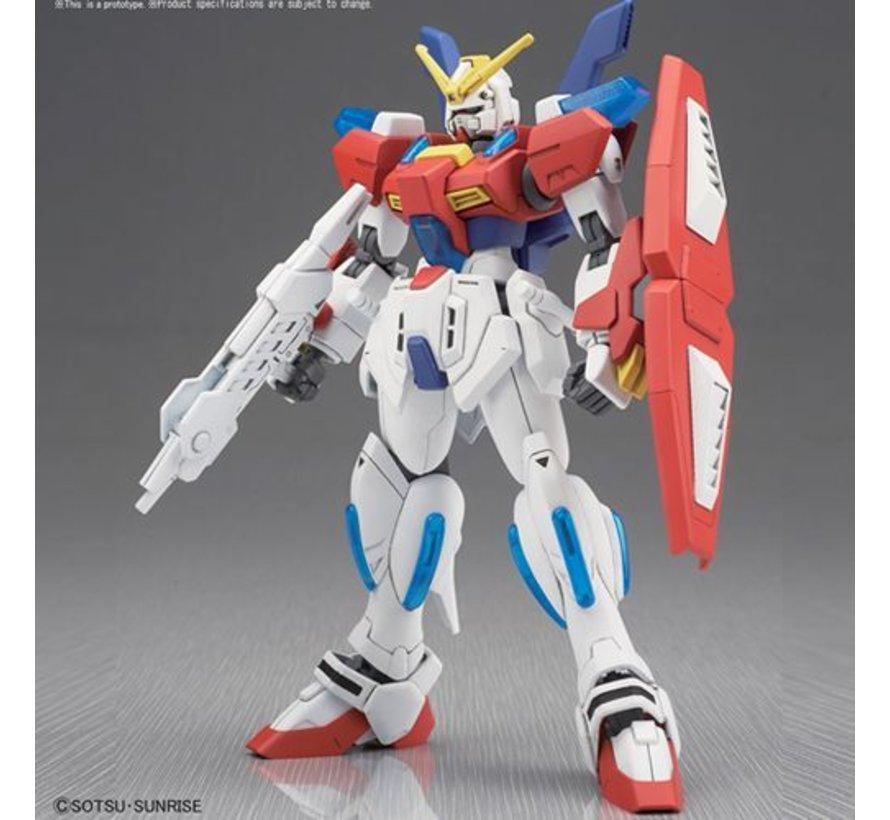"""219547 #058 Star Burning Gundam, """"Gundam Build Fighters"""", Bandai HGBF 1/144"""