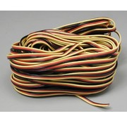 Hitec (HRC) 59411 Servo Wire 50' 3 Color