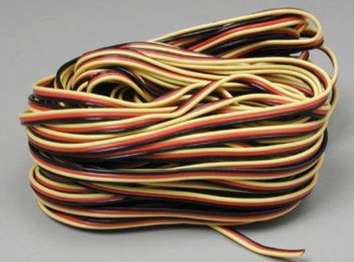 Hitec (HRC) 59411 Servo Wire 50' 3 Color