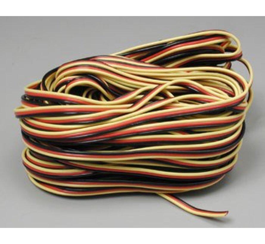 59411 Servo Wire 50' 3 Color