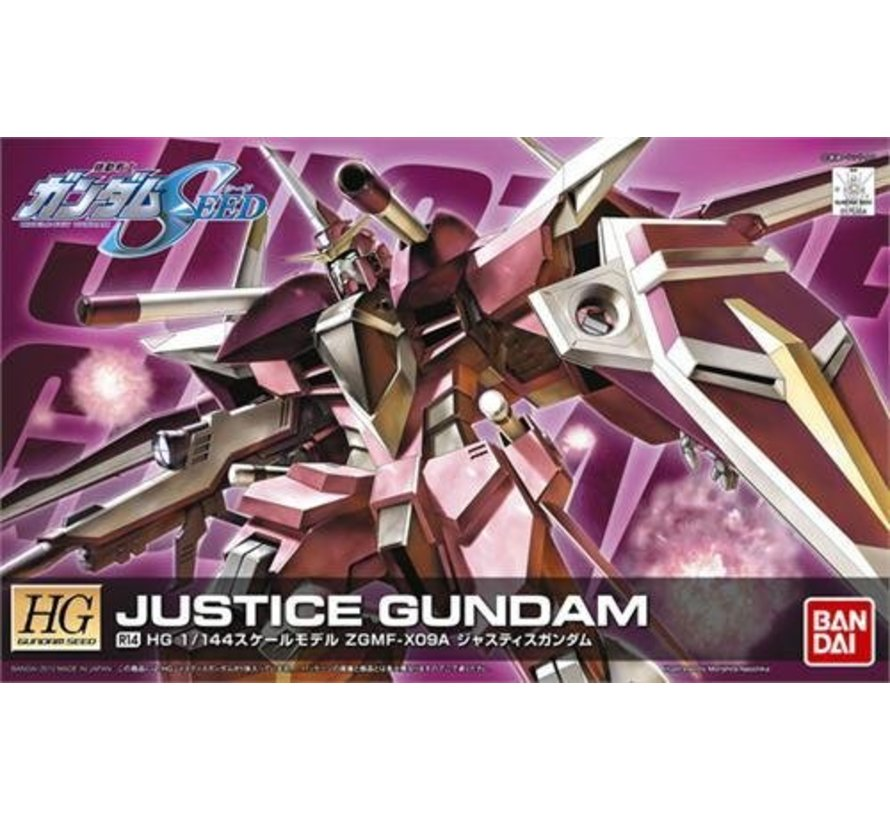 175304 1/144 HG #R14 ZGMF-X09A Justice Gundam Remast