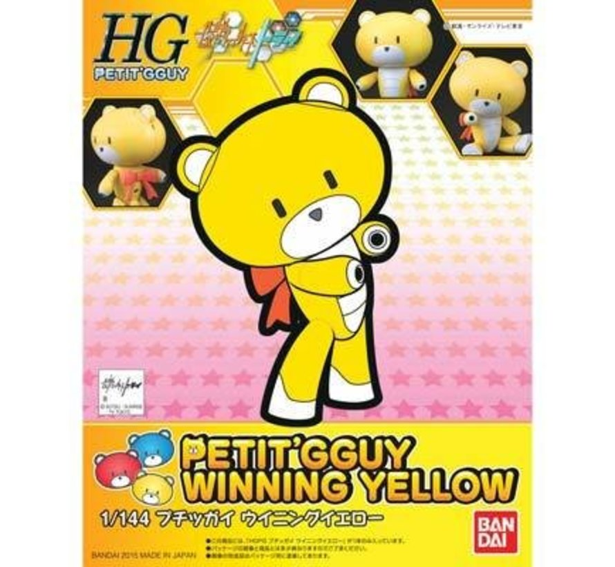 200584 Winning Yellow Petit-Beargguy Gundam Build Fight
