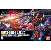 BANDAI MODEL KITS Bandai MS-06R-1A Zaku II Johnny Ridden Custom HG