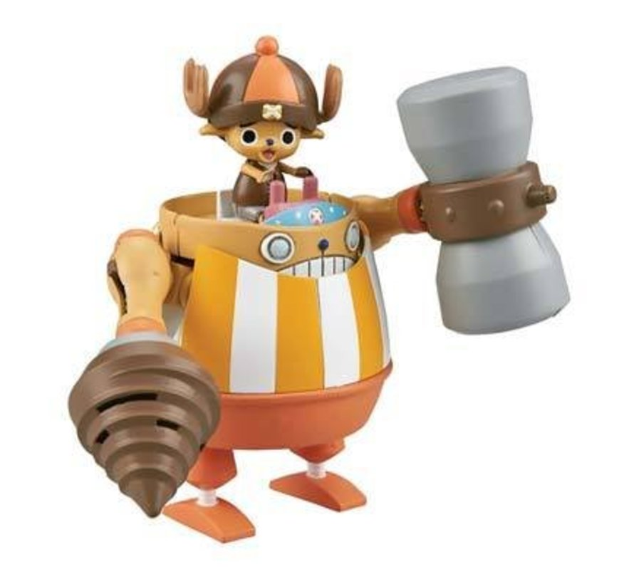 "Chopper Robo Super 4 Kung Fu Tracer ""One Piece"" Bandai Chopper Robo"