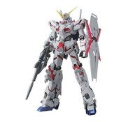 BANDAI MODEL KITS Unicorn Gundam (Red / Green Twin Frame Edition) Titanium Finish (MG)