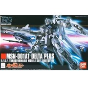 BANDAI MODEL KITS 115 MSN001A1 Delta Plus HG1/144