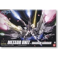 BANDAI MODEL KITS Meteor Unit + Freedom Gundam (HG)