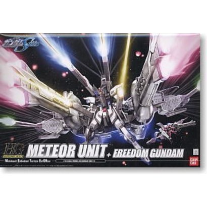 BANDAI MODEL KITS #16 Meteor Unit + Freedom Gundam Bandai HG SEED