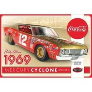 Polar Lights (PLL) 1/25 Bobby Allison 1969 Coca Cola Merc Cyclon