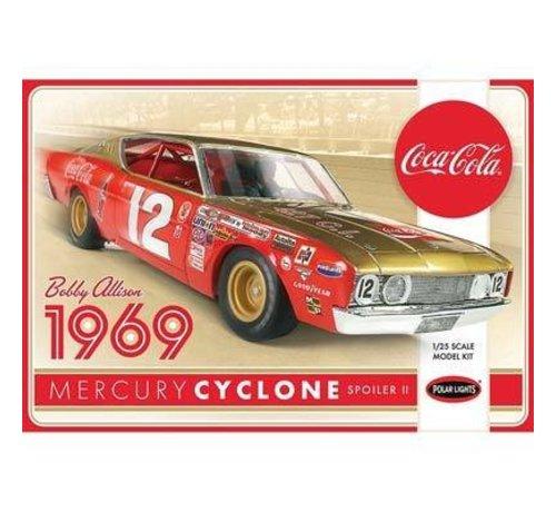 Polar Lights (PLL) POL948/12 1/25 Bobby Allison 1969 Coca Cola Merc Cyclon