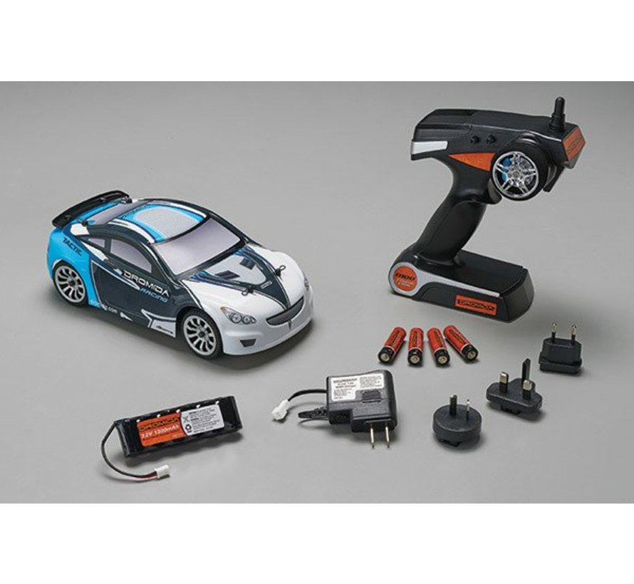 C0074 1/18 Brushless Radio Controlled Touring Car 2.4GHz RTR