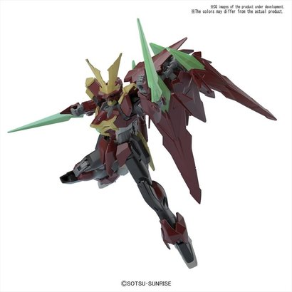 BANDAI MODEL KITS 219543 Ninpulse Gundam HGBF 1/144